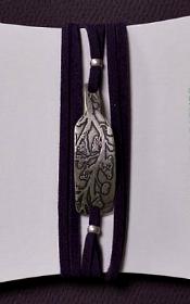 Wrap Suede Silver Vine 175x280