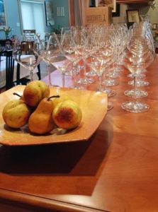 Riedel wine Glass Tasting