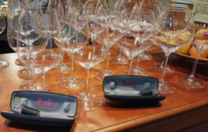 Riedel Wine Glasses meet TRIbella Wine Aerator