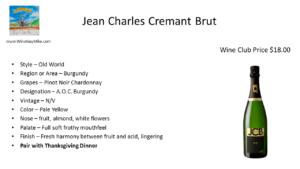 Jean Charles Cremant Brut