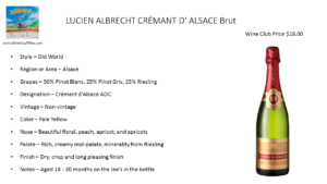 LUCIEN ALBRECHT CRÉMANT D' ALSACE Brut