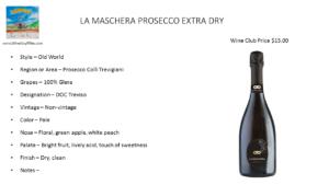 LA MASCHERA PROSECCO EXTRA DRY
