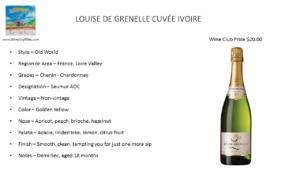 LOUISE DE GRENELLE CUVÉE IVOIRE