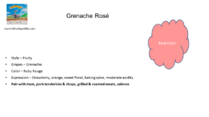 Rosé of Grenache