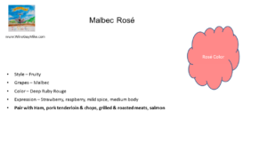 Rosé of Malbec