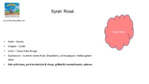 Rosé of Syrah