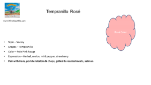 Rosé of Tempranillo