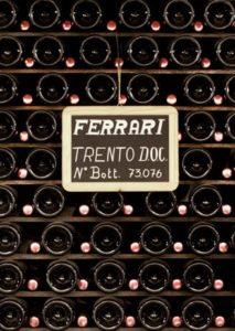 Ferrari Sparkling Wine Bottles