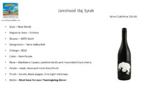 Jamsheed Illaj Syrah