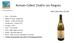 Romain Collett Chablis