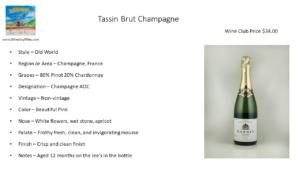 Tassin Brut Champagne